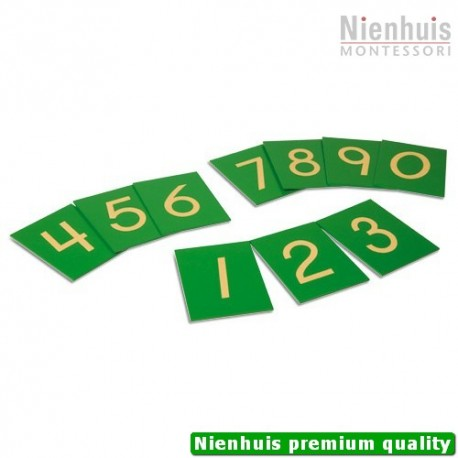 Sandpaper Numerals: US Version