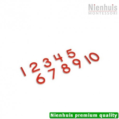 Cut-Out Numerals: US Version