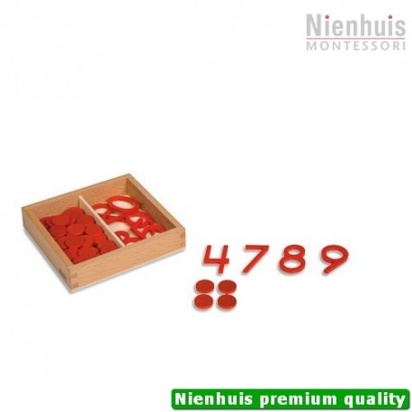 Cut-Out Numerals And Counters: US Version