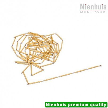 Golden Bead Chain Of 1000: Individual Beads Nylon