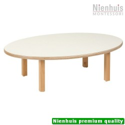Toddler Table: Oval (100 x 62 x 31 cm)