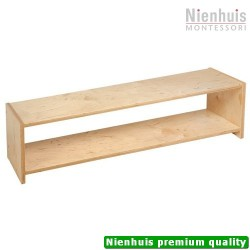 Infant / Toddler Shelf: 1-Tier (121.5 x 30 x 32.5 cm)