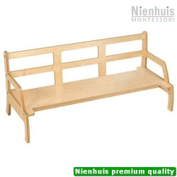 Toddler Bench: Adjustable Height (95 x 22.25 x 13 to 16 cm)