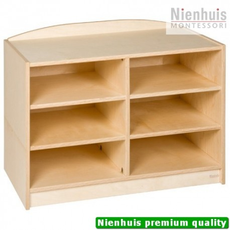 End Cabinet: 6 Compartments (69 cm)