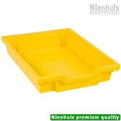 Gratnells Tray: Yellow (7 cm)