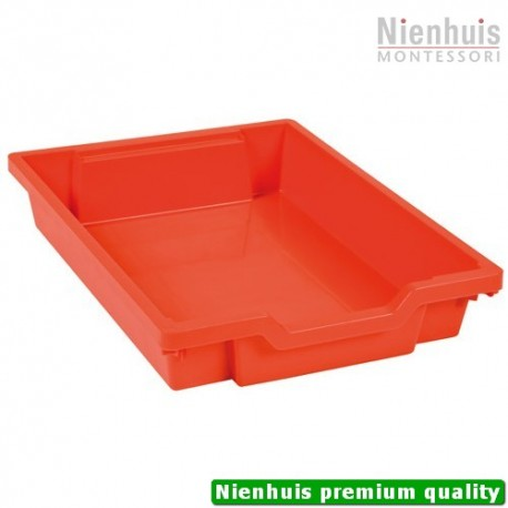 Gratnells Tray: Red (7 cm)
