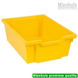 Gratnells Tray: Yellow (15 cm)
