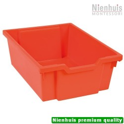 Gratnells Tray: Red (15 cm)
