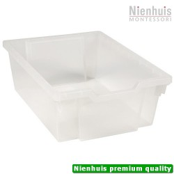 Gratnells Tray: Transparent (15 cm)
