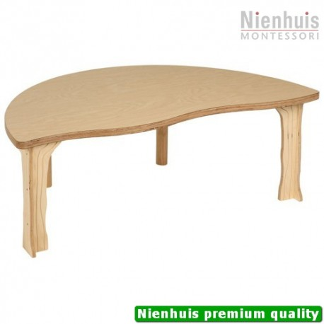 DeZein Table: Half Round - High (114 x 59 x 40 cm)