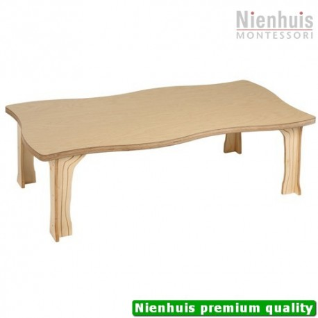 DeZein Table: Rectangular - Low (117 x 61 x 35 cm)