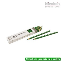 3-Sided Inset Pencils: Green