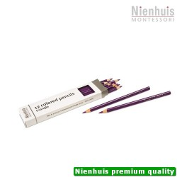 3-Sided Inset Pencils: Violet