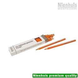 3-Sided Inset Pencils: Orange
