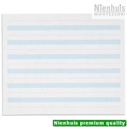 Writing Paper: Blue Lines - 7 x 8.5 in - (500)