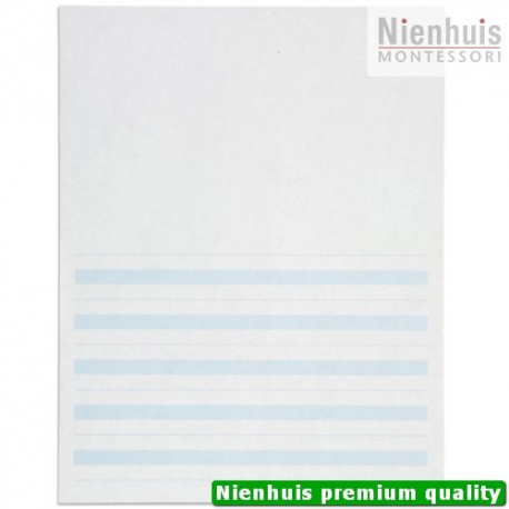 Writing Paper: Blue Lines - 8.5 x 11 in - (500)