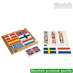 Flag Puzzle Of Europe