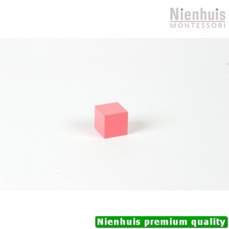 Pink Tower Cube: 3 x 3 x 3