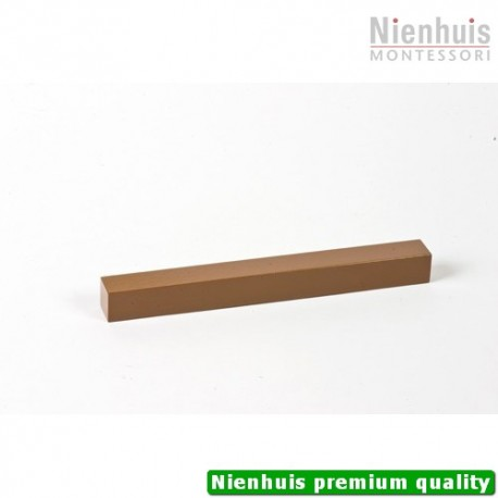 Brown Stair Prism: Brown Lacquer 20 x 2 x 2