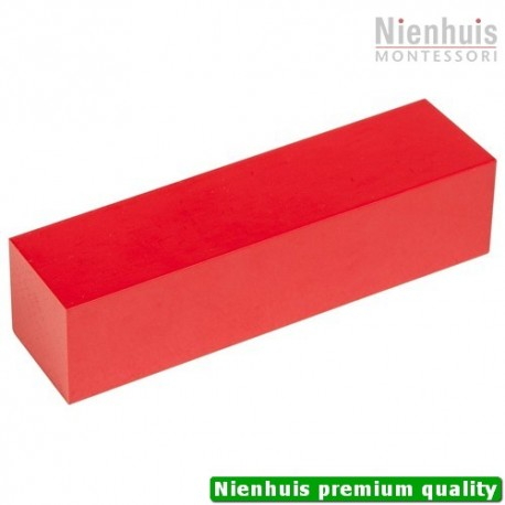 Red Rod And Number Rod Prism: 10 cm