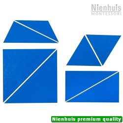 Set of Blue Constructive Triangles