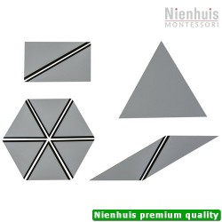 Set of Grey Constructive Triangles