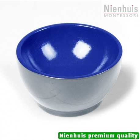 Wooden Cup: Gray/Blue