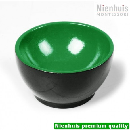 Wooden Cup: Black/Green
