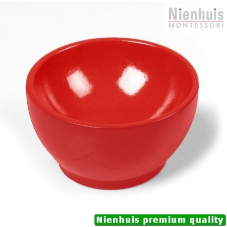 Wooden Cup: Red