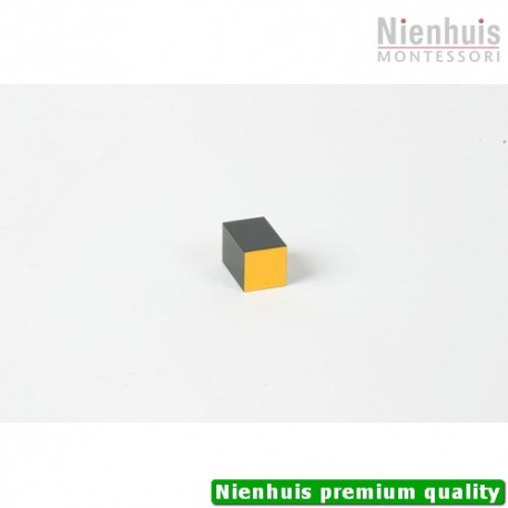 Trinomial Cube: Black And Yellow Prism - 3 x 2 x 2