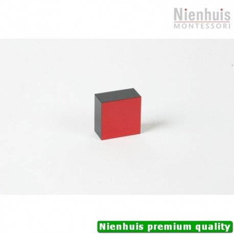 Trinomial Cube: Black And Red Prism - 2 x 4 x 4