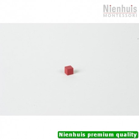 Cubing Material: Red Cube - 1 x 1 x 1