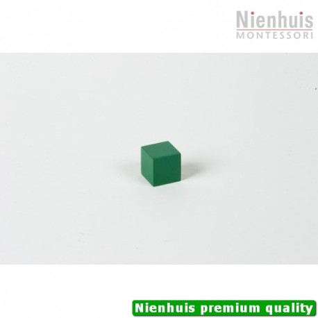 Cubing Material: Green Cube - 2 x 2 x 2
