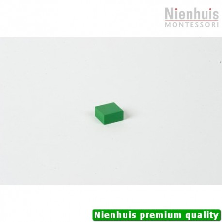 Cubing Material: Green Square - 2 x 2 x 1