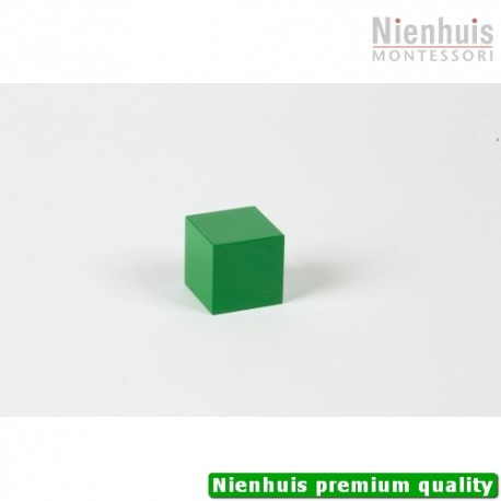 Multibase: Green Cube - 4 x 4 x 4