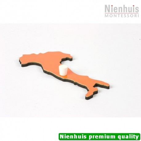 Puzzle Piece Of Europe: Italy