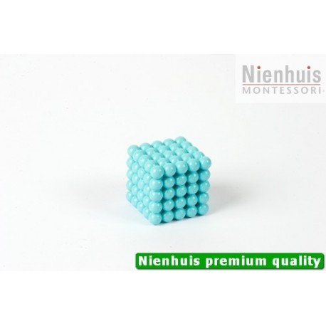 Connected Nylon Cube Of 5: Light Blue