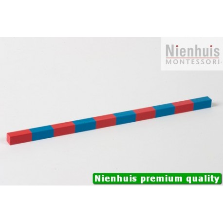 Small Numerical Rod: 25 cm