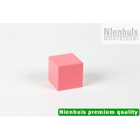 Pink Tower Cube: 5 x 5 x 5