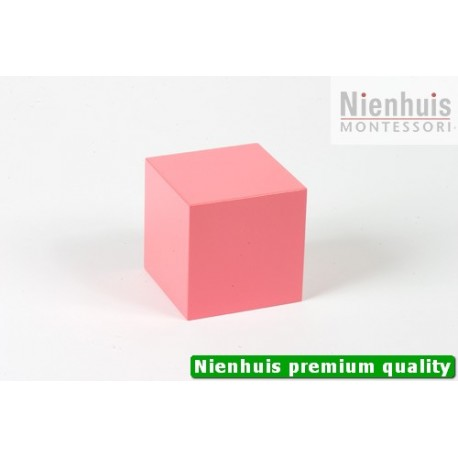 Pink Tower Cube: 7 x 7 x 7
