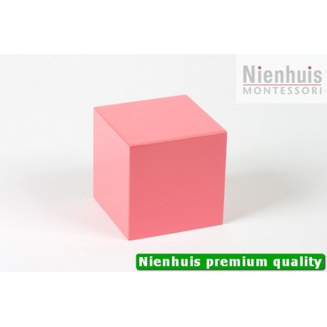 Pink Tower Cube: 8 x 8 x 8