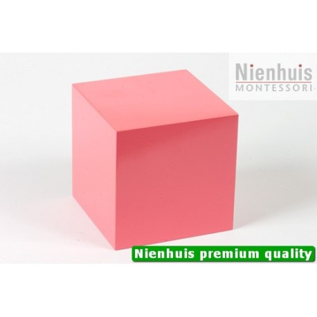 Pink Tower Cube: 10 x 10 x 10