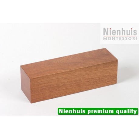 Brown Stair Prism: Clear Lacquer 20 x 6 x 6