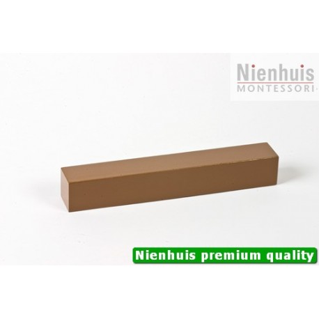 Brown Stair Prism: Brown Lacquer 20 x 3 x 3