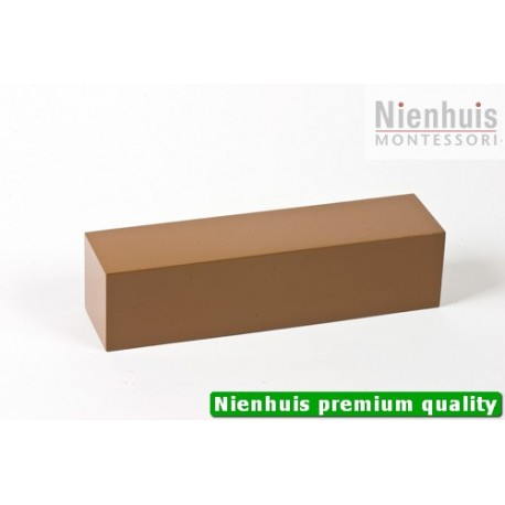 Brown Stair Prism: Brown Lacquer 20 x 4 x 4