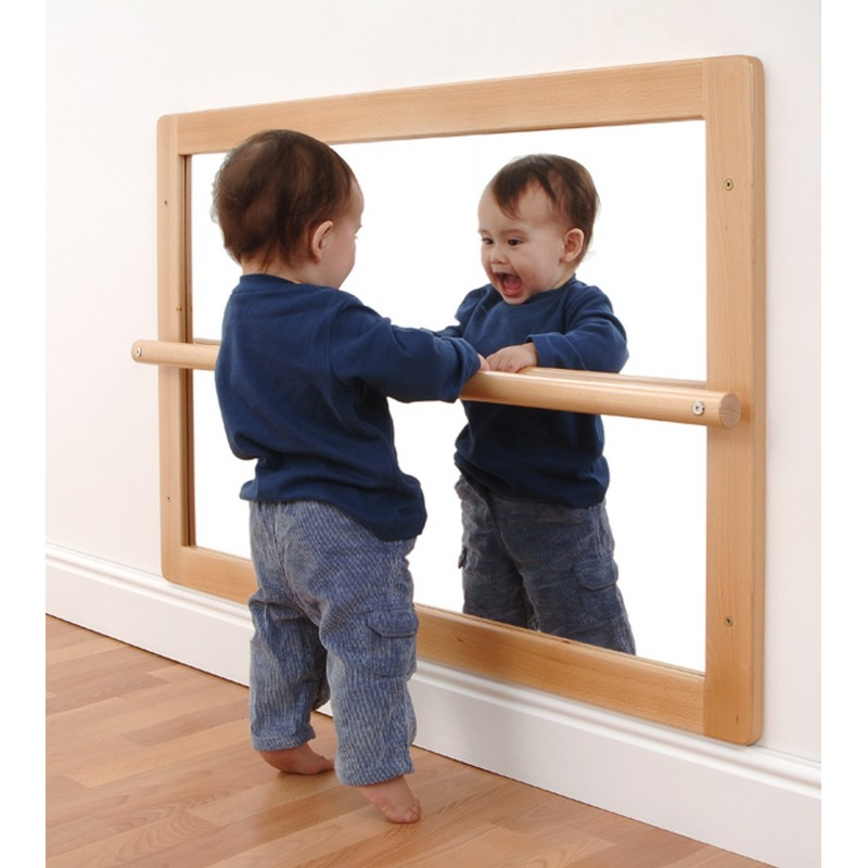Pull Up Baby Mirror