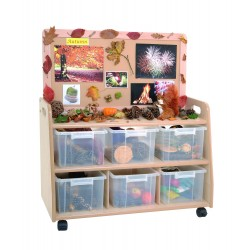 Grand Raleigh Room Divider - display panel