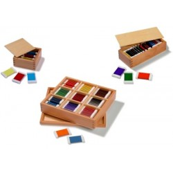 Colour tablets SET 1st, 2nd and 3rd boxes (wood) (Save £5)