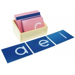 Sandpaper letters - Lower Case Letters (print)