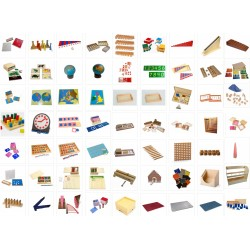 SAVER-SET Complete Montessori Nursery Set (Save over £300)